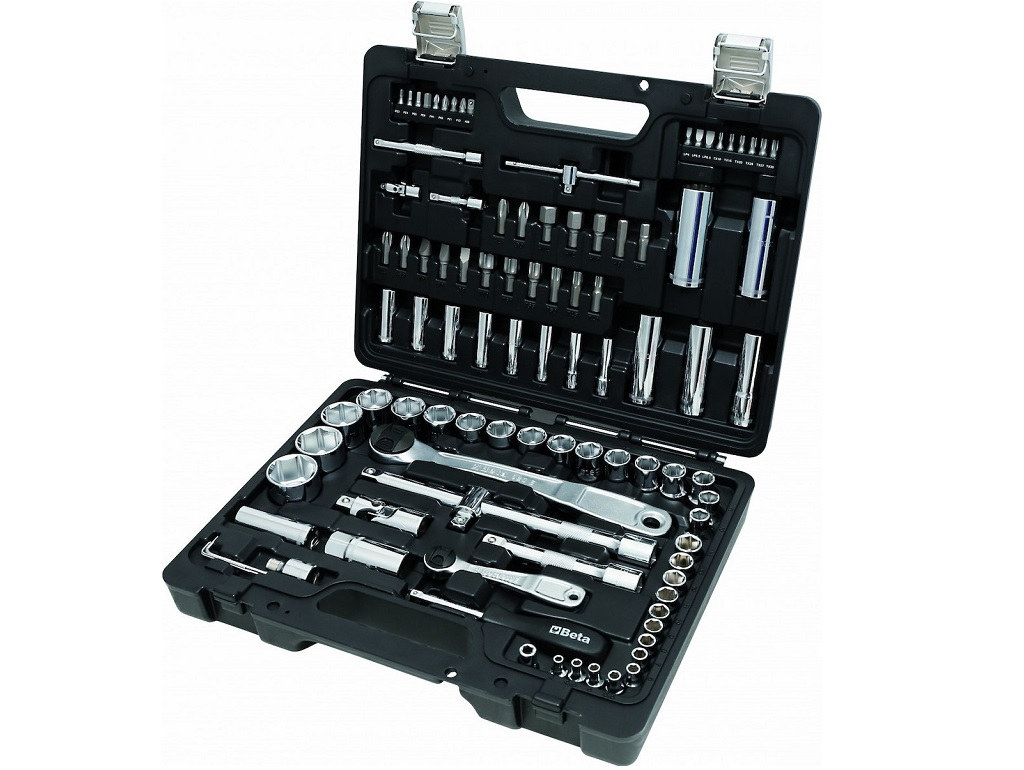 "Hand Tools - Beta - Collection with 1/4 ""and 1/2"" 98pcs"