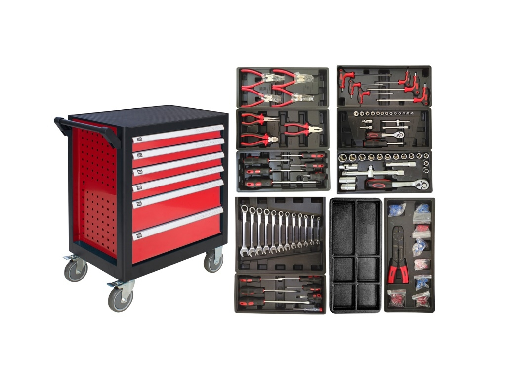 Storage  - Bormann - Professional Professional with 6 Drawers and 237 Pieces BWR8000SET