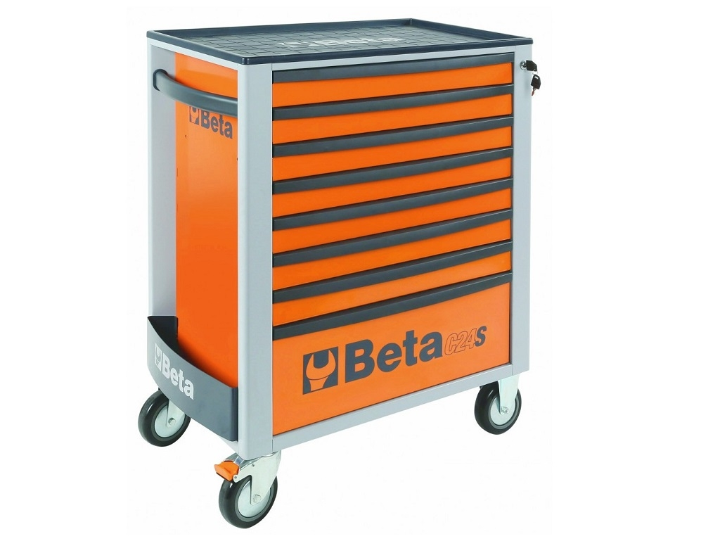 Storage  - Beta - Toolbox with 8 drawers and 384 tools 2400S-08/E-XL
