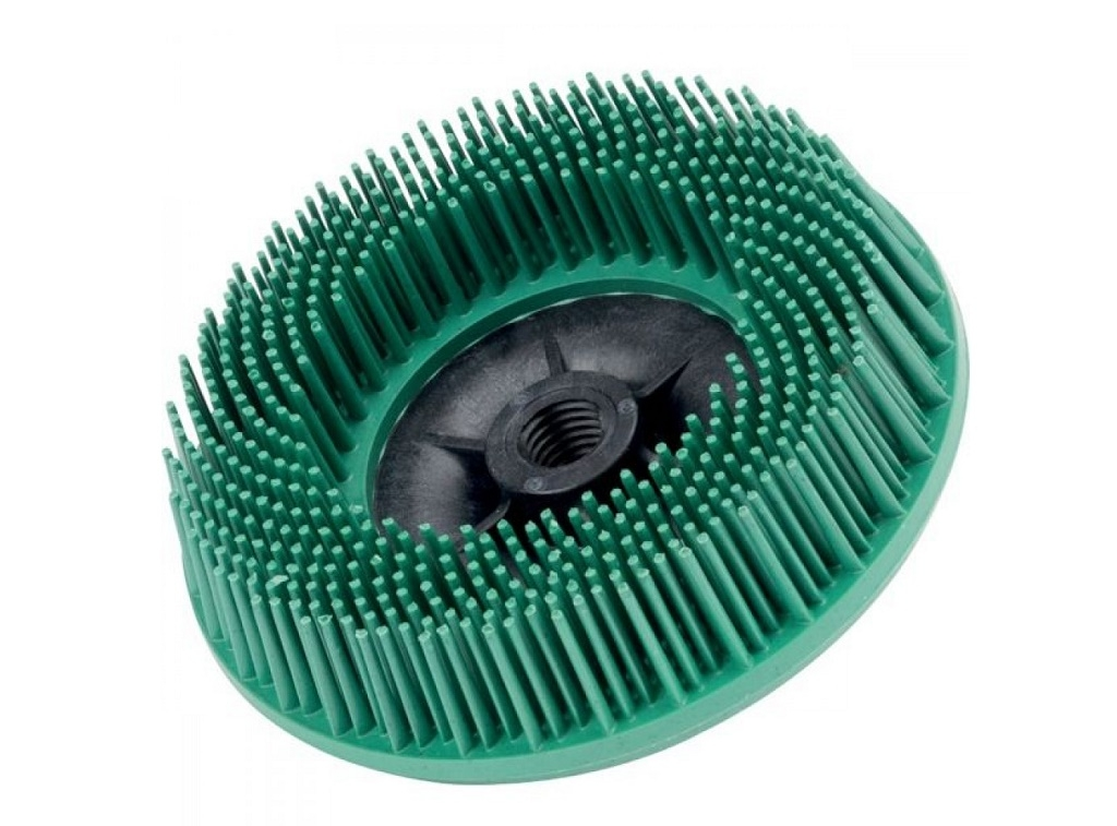 Auto - Moto Care Products - 3M - Bristle Disc 115mm M14 P50 Green for angle grinder