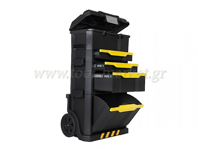 Storage  - Stanley - Toolkit with Detachable Toolbox