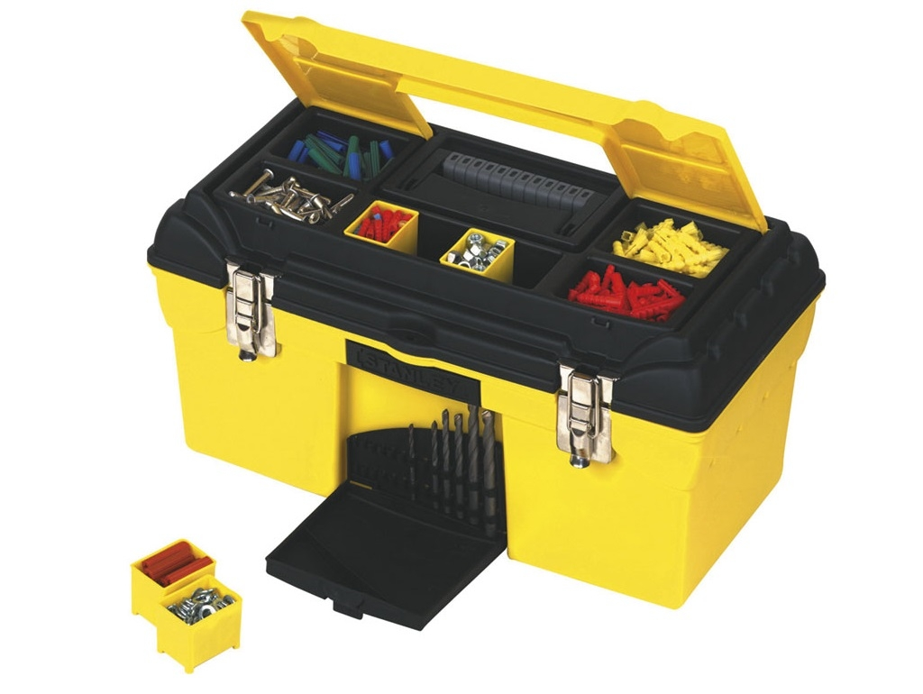 Storage  - Stanley - Toolbox CONDOR with metal clasps