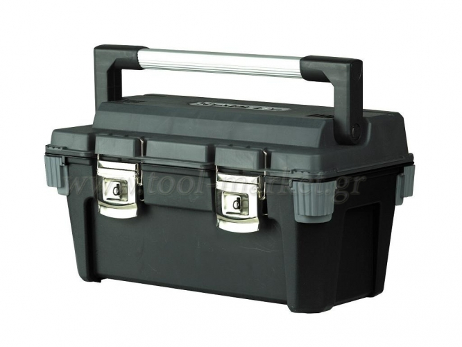 Storage  - Stanley - Toolbox 20'' plastic with Aluminum Handle