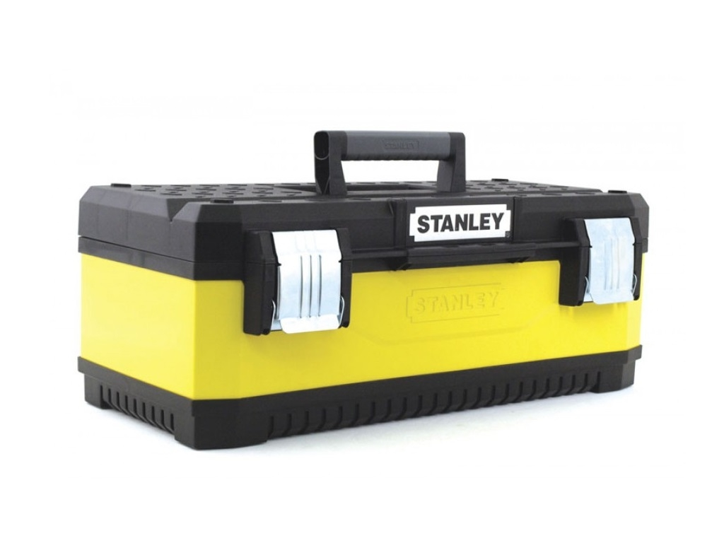 "Storage  - Stanley - Toolbox 23 ""with metal clasps"