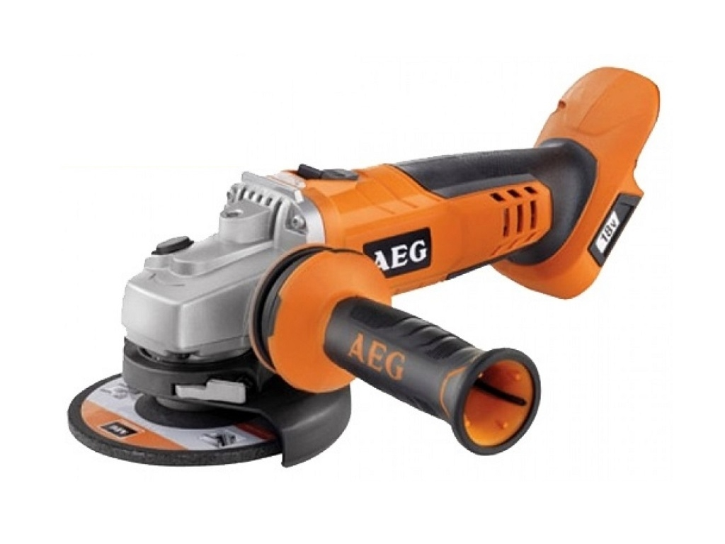 AEG - Angular Wheel 18V 125mm (without battery and charger) BEWS18-125X-0 - Angle Grinders