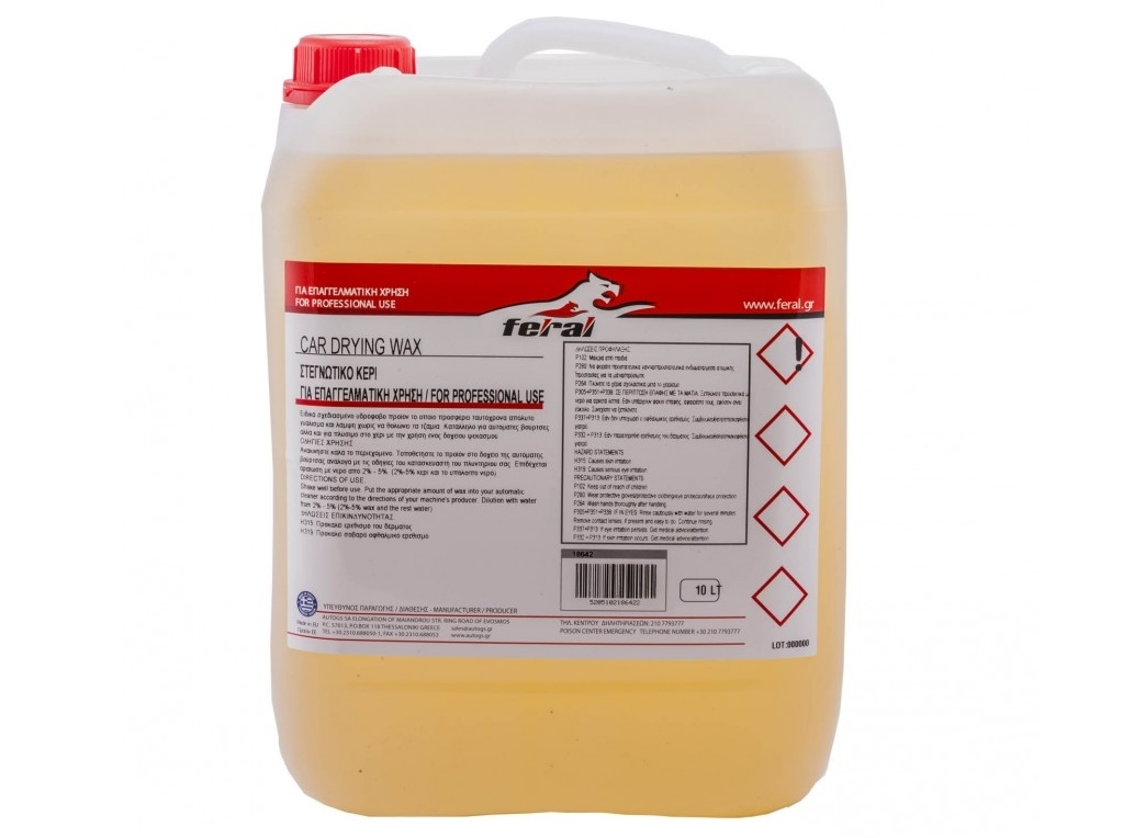 Auto - Moto Care Products - Feral - Drying wax 10lt