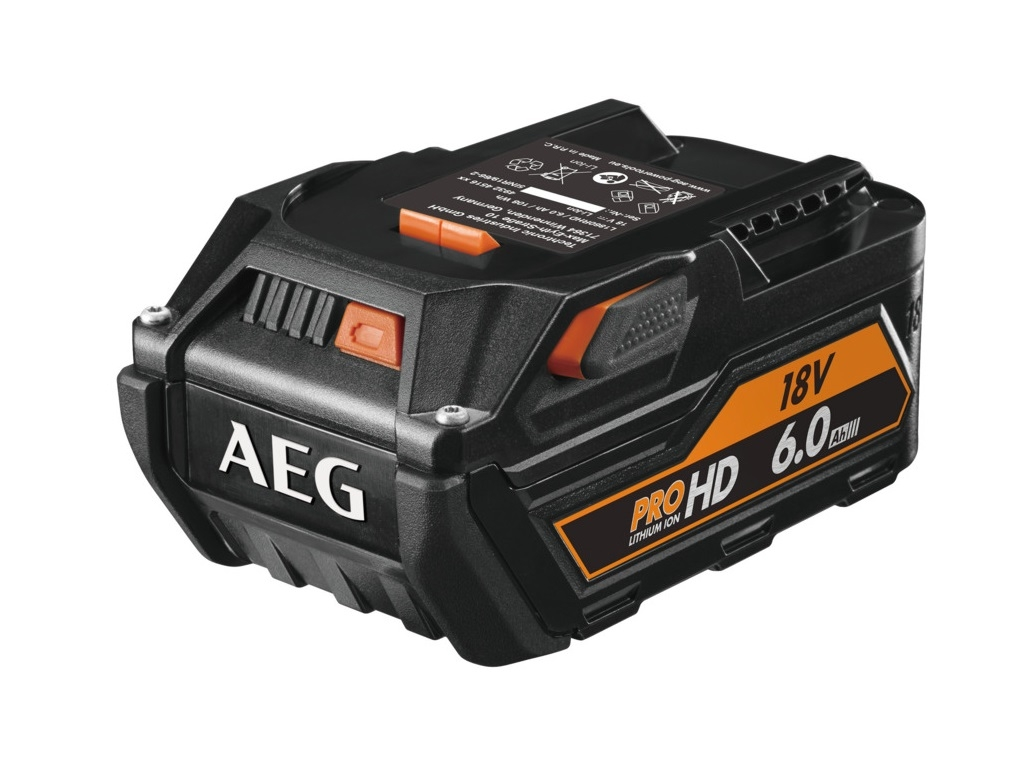 Accessories - Consumables - AEG - Lithium battery 18V 6.0Ah L1860RHD