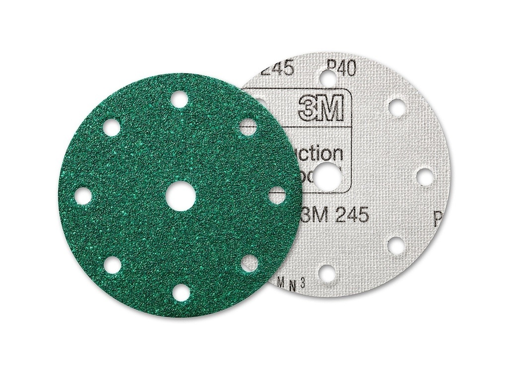 Accessories - Consumables - 3M - 245 Stikit ™ Abrasive Disk with 8+1 holes 150mm