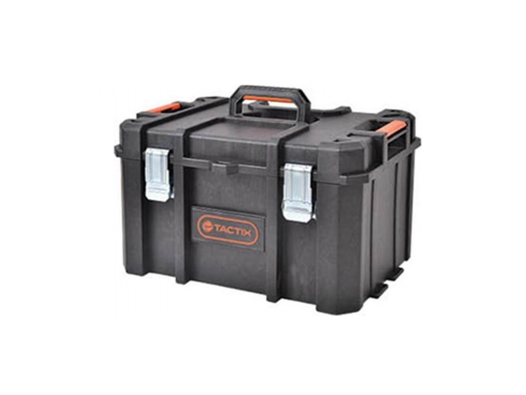 Storage  - Tactix - Unbreakable Waterproof Heavy Duty Toolbox 52.8 x 37.1 x 31 cm
