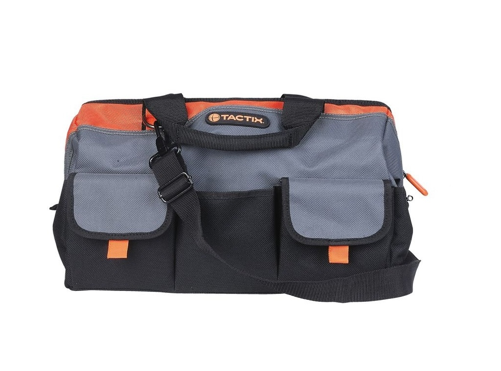 Storage  - Tactix - Tool Bag With Zipper And Cases