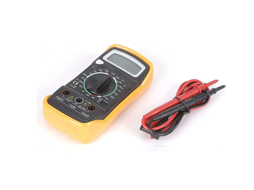 Hand Tools Electrician Tactix Electronic Digital Multimeters Multimeter