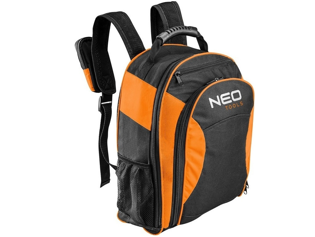 Storage  - Neo Tools - Backpack fabric bag with 4 + 6 cases