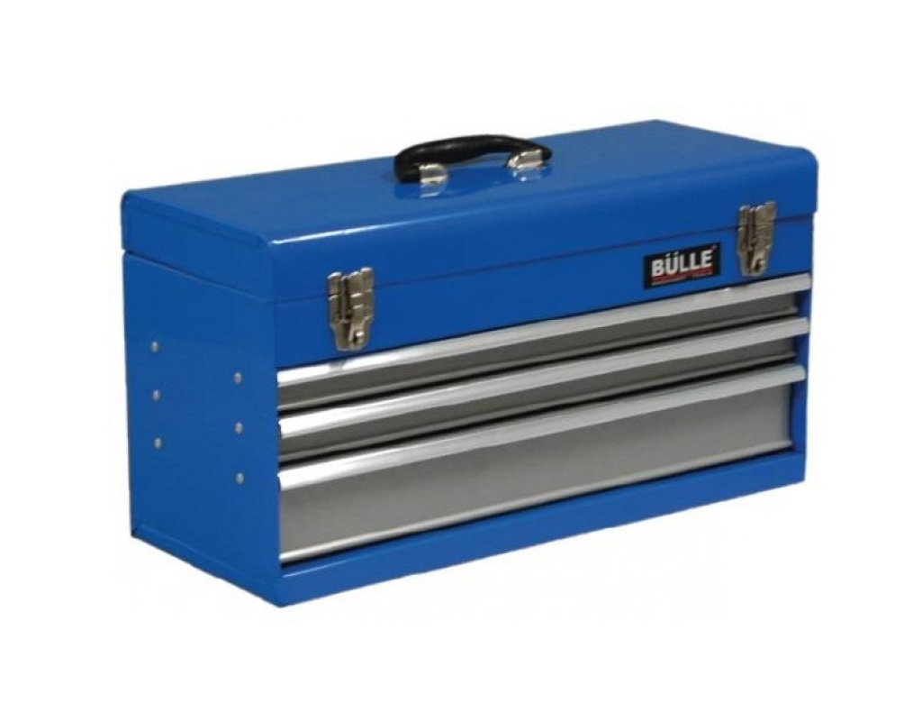 Storage  - Bulle - Portable metal toolbox with 3 drawers MTB-553D
