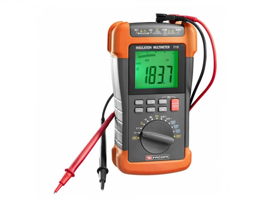 "Facom - Multimeter, Insulation Meter ""MEGGER"" & isolation controller - Electrician Tools"