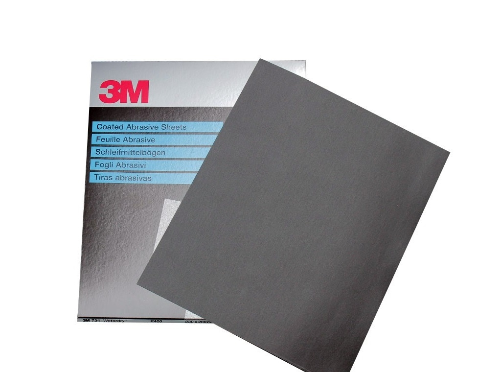 Auto - Moto Care Products - 3M - Wetordry ™ Wire Paper 230mm x 280mm