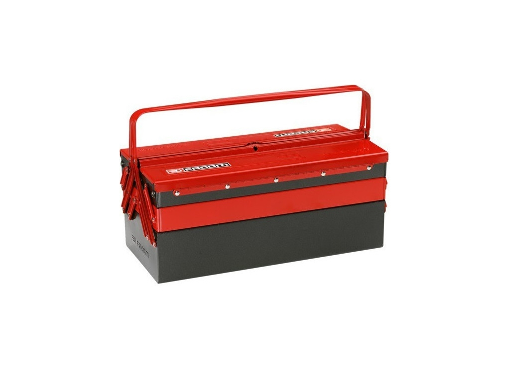 Storage  - Facom - 5-seat Metal Toolbox