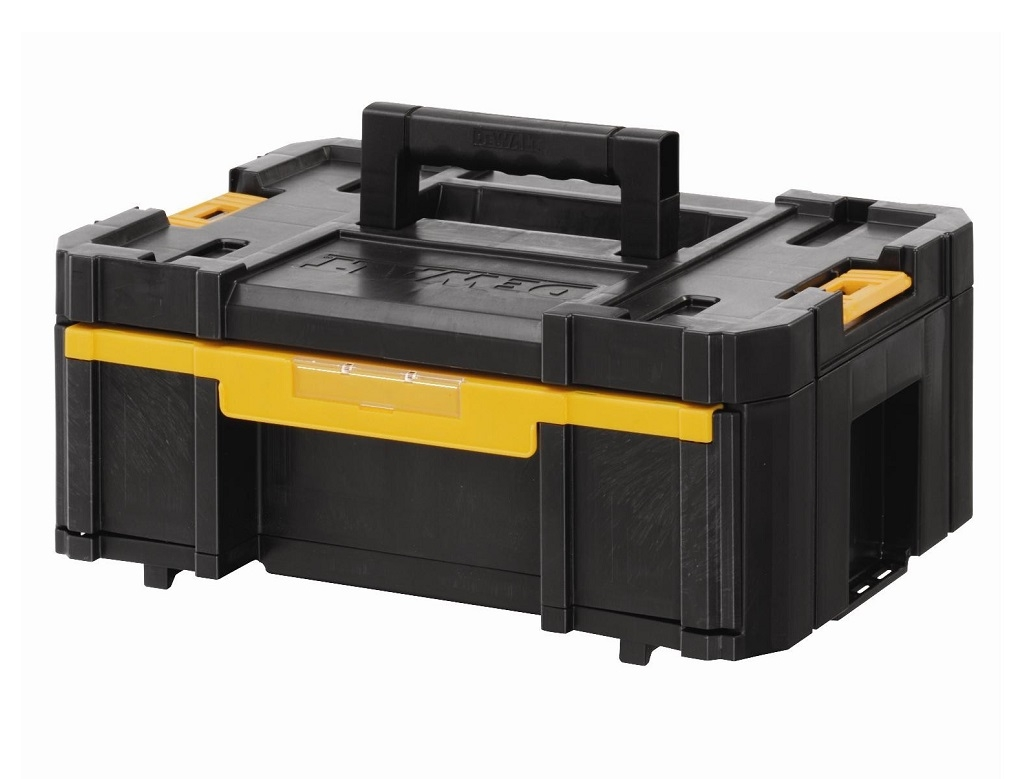 Storage  - DeWALT - Toolbox with Tray TSTAK II