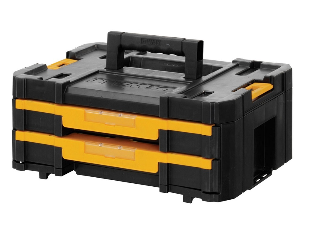 Storage  - DeWALT - Toolbox with two drawers TSTAK IV