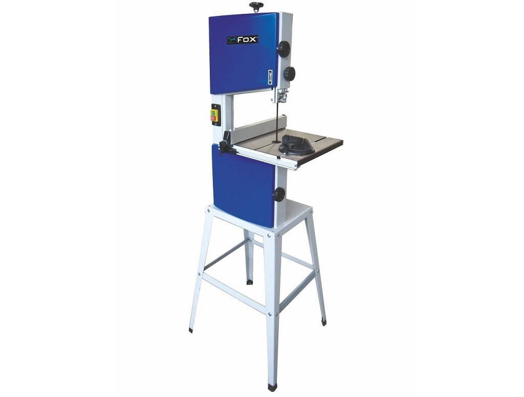 Fox - Vertical Bandsaw with 2 aluminum pulleys 420W - Woodworking machines