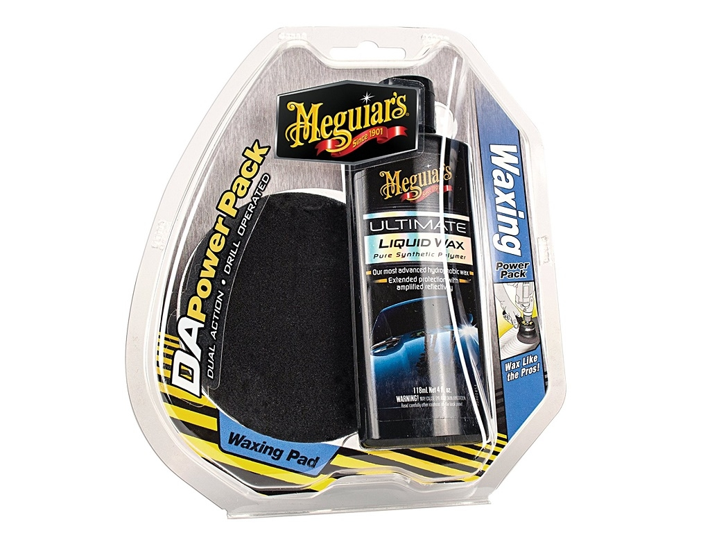 Auto - Moto Care Products - Meguiar's - DA Waxing Power Pack