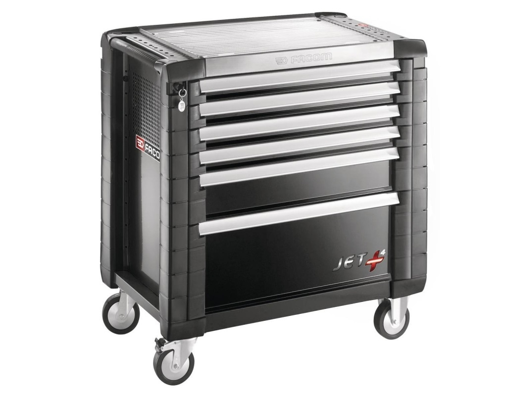 Storage  - Facom - jet + machine with 6 drawers (4 drawers per drawer)