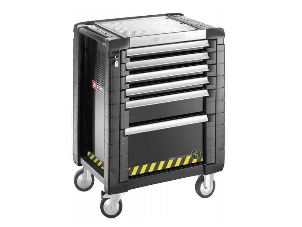 Storage  - Facom - Tool jet + with Safety Lock System 6 drawers (3 drawers per drawer)