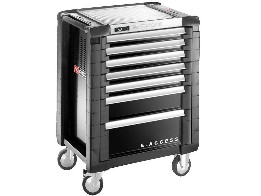Storage  - Facom - E-access drawer with 8 drawers