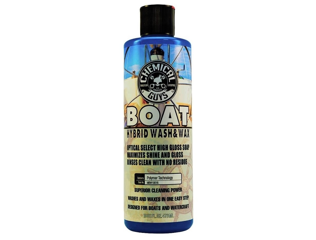 Marine Products  - Chemical Guys - Marine, Watercraft and Boat Hybrid Wash and Wax (16 oz)