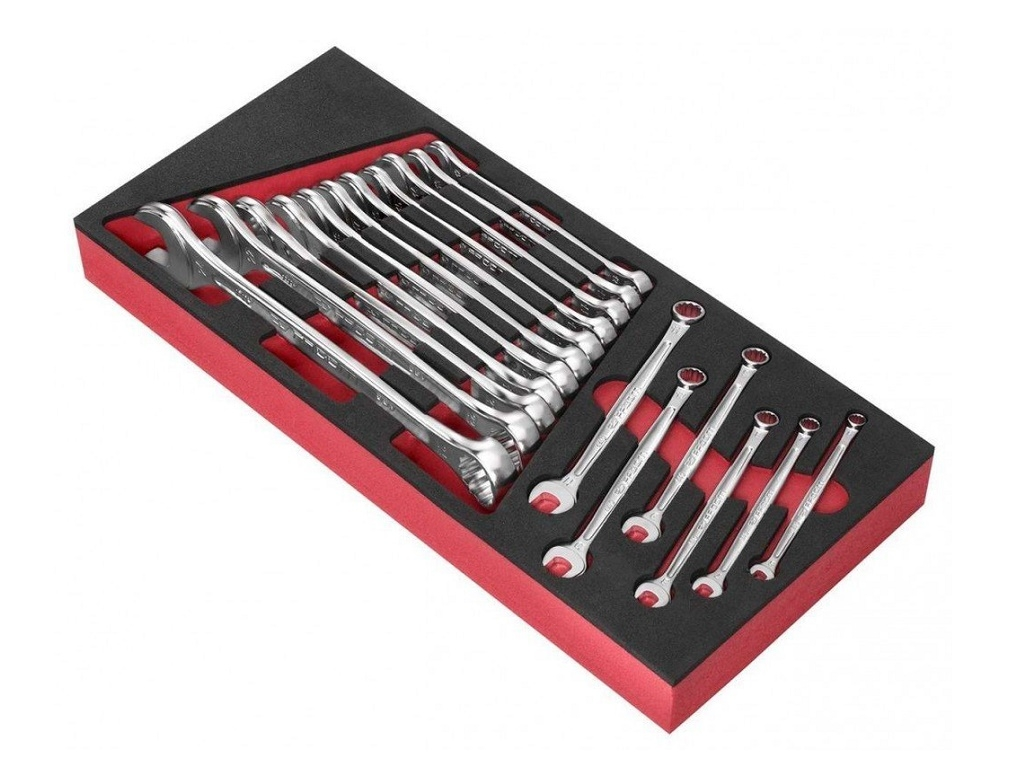 Facom - Set with 17 Combination Wrenches OGV 6-24mm - Wrenches