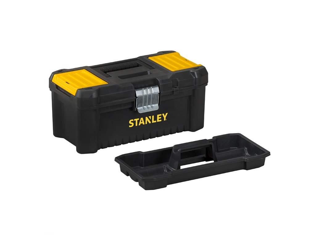 Storage  - Stanley - Plastic Tool with Essential 40.6cm Metal Clip