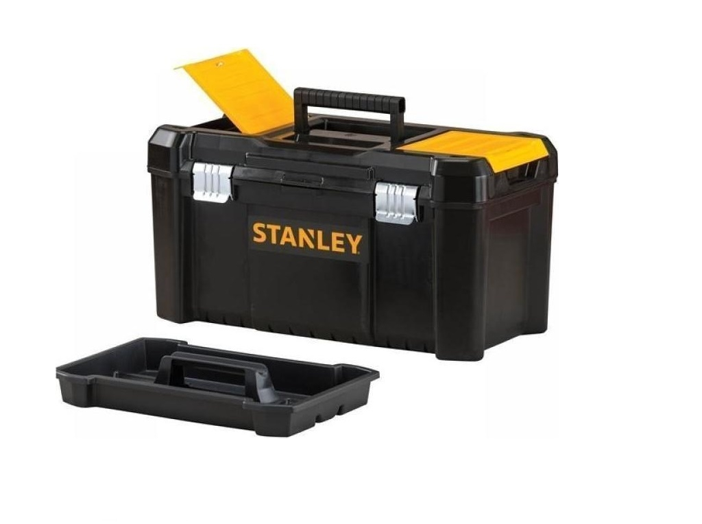 Storage  - Stanley - Plastic Tool with Essential 48.2cm Metal Clip