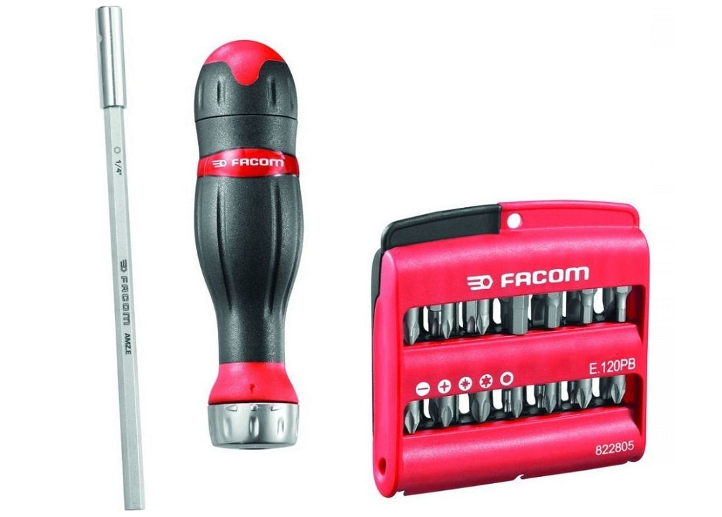 Facom - Screwdriver with 3 in 1 - Screwdrivers
