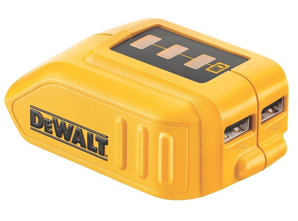Accessories - Consumables - DeWALT - Universal charger for USB devices 10.8V-18V