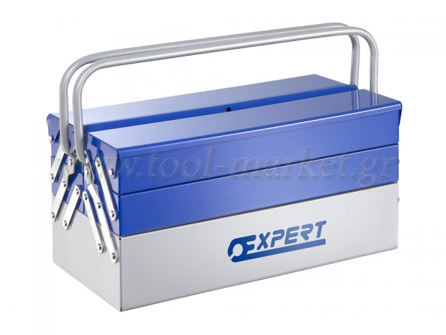 Storage  - Expert tools - Toolbox 5 metal connectors 45cm