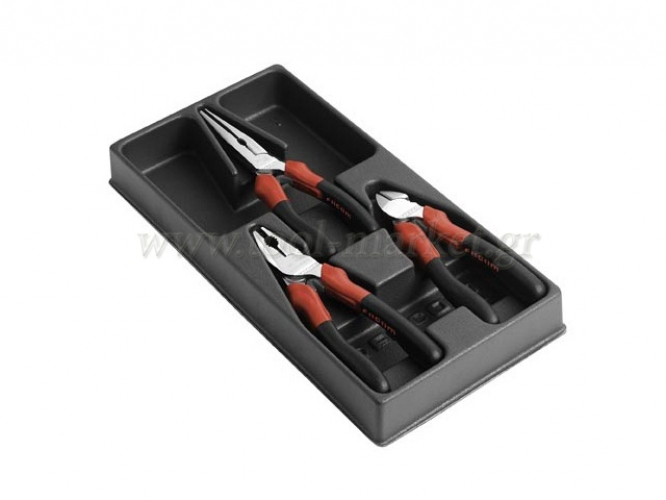 Facom - Set with 3 Pliers Mechanicm - Pliers