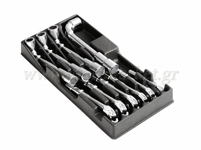 Facom - Case with 10 pipe Keys OGV - Wrenches