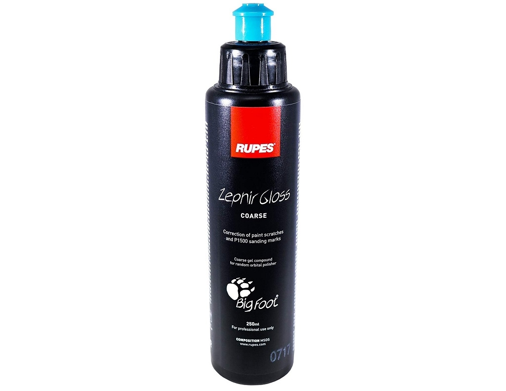 Auto - Moto Care Products - Rupes - Compound Oiment Zephir Gloss (for eccentric polisher) 250ml