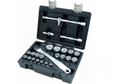 Beta - Set of wrenches 1/2'' 25 pieces - Socket sets(Collections) - Sockets