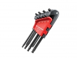 Facom - Set with 9 Long Torx Keys with Bead Head - Wrenches