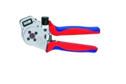 Knipex - 4-point pressure press for nose terminals - Electrician Tools