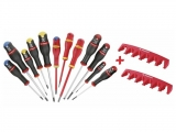 Facom - Set with 12 screwdrivers & 2 cases - Screwdrivers