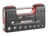 "Facom - Casket DBOX 1/2 ""closed-type ratchet, sockets & accessories 6gon - Socket sets(Collections) - Sockets"