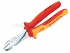 Knipex - Leverage Diagonal 1000v. & VDE 180mm - Pliers