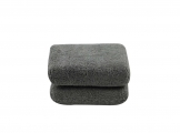 Chemical Guys - Gray - Microfiber Applicator Premium Grade  (2 Pack)