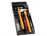 Facom - Case with beating tools - Hammers - Sledges - Punch
