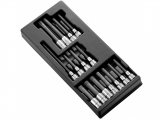 "Facom - Case with 15 screwdriver sockets 1/2 "" - Socket sets(Collections) - Sockets"