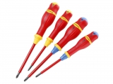 Facom - Set of 4 screwdrivers 1000V Borneo Slim - Screwdrivers