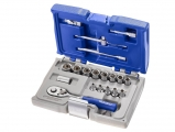 "Expert Tools - 1/4 ""6-Gauge Metric Pins & Accessories - 19pcs - Socket sets(Collections) - Sockets"