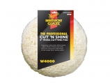 "Meguiar's - Σφουγγάρι Cut N Shine Wool Pad - 8"" White"